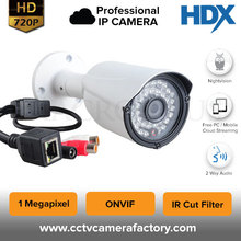 Water Proof Home Security 720P HD Resolution Night vision Motion Detection Outdoor IP Bullet Camera
