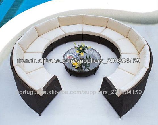 fabriqu en chine canap courbe demi cercle canap canap cercle canap en coupe incurv e. Black Bedroom Furniture Sets. Home Design Ideas