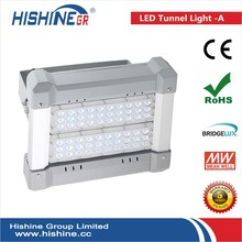bridgelux chip meanwell driver supply 90W led tunnel flood light led lamp flashing tunnel necklace led tunnel lights