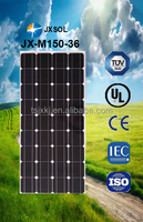 China cheap price, high efficiency solar panels, 150w monocrystalline solar panels