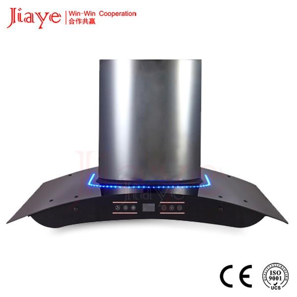 easy clean wall mounted stainless steel range hood