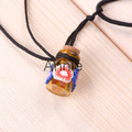 regalo mini botella de vidrio con corcho para botella de aceite esencial 7ml vial