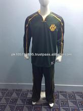 Basketball Warm ups suit made of 100% Polyester dry fit