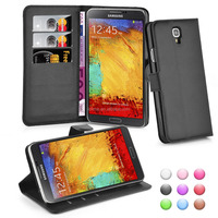 Wallet Flip Leather Moblie Phone Case Cover with Card Slots for Samsung Galaxy Note 3 Neo