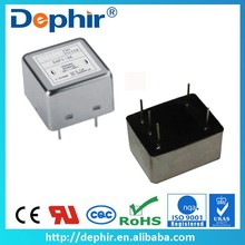 1~6A 250VAC High Quality EMI EMC Filter For Single Phase Power Supplies