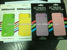 Anti Shock screen protector / 8H tempered glass screen protector for IPhone 4 / 4s(AS)
