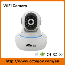 wifi wireless Video Record TF Card IP Camera with P2P Alarm Security System