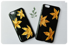 Dry pressed natural real flower phone cover case flower case for samsung