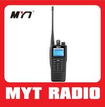 encrypted compatible with MOTOROLA uhf/vhf DMR radio digital walkie talkie GPS and IP65 waterproof & Dust Protector MYT-DM3000