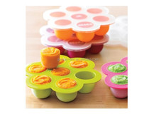 FDA LFGB FOOD GRADE Mold Freeze Multiportions silicone ice cube tray with lid