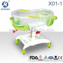 Hospital infant bed,baby swing and bassinet