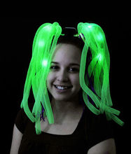 noodle light up headband with led lights for St. Patrick's Day