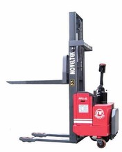 1 Ton DC Electric Hydraulic Pallet stacker truck for carry cargo