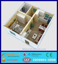 prefab shipping container house/export prefab house
