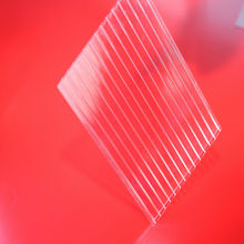 100% virgin ten years guarteen hollow plastic sheets polycarbonate panel polycarbonate sheet
