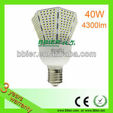40W indoor lighting smd led corn bulb for warehouse
