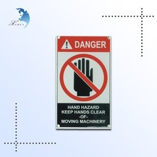 Wholesale Wall mounted metal safety warning sign/ aluminium traffic sign board