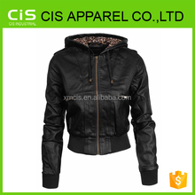 promotion cheap cool woman leather jacket/leather jacket for women/woman leather jackets