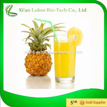 Kosher Certificate 100% Pure Natural Pineapple Extract/Pineapple Powder