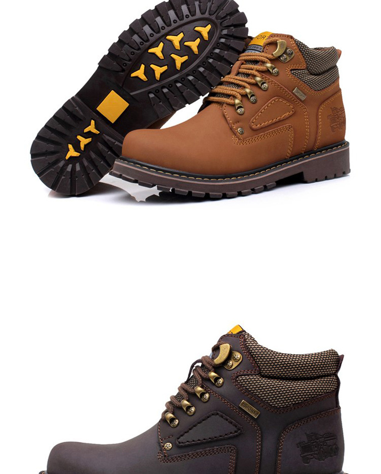 New 2014 Winter Ankle Martin Fashion Genuine Leather Waterproof