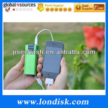 Double usb power bank 13000mAh londisk PB004B for iPhone4,4s and Tablet Pc