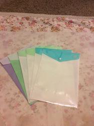 3 pc A4 File Folder holder Document Bag cute Envelope