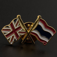 Enamel Flag Pin Badges For All The Countries With Epoxy