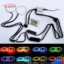 Auto LED Lighting COB RGB Angel eyes wifi remote color changing by mobilephone
