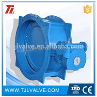 double offset ansi/din butterfly valve weight risilient seat water use
