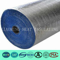 hard high density rubber foam with aluminum foil