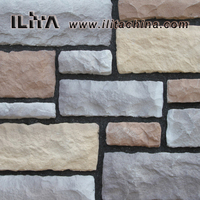 interior wall paneling stone for decorative, stacked stone(YLD-71056)