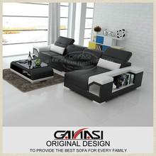 Chaise lounge de lujo, muebles blancos, brillante muebles de color