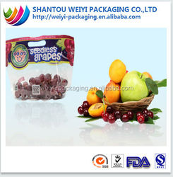 Hot sale fruit and vegetable packaging with air hole