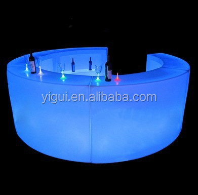 2015 factory direct new design amazing LED bar counter with remote control
