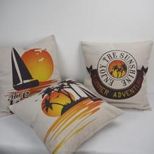 New Popular sunshine sea design car seat pillow Cushion