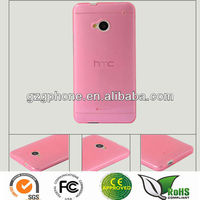 soft flexible tpu case for HTC M7/HTC ONE