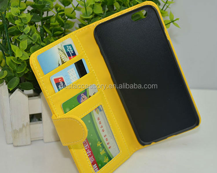 Book flip wallet leather case cover pouch for Apple iphone 6 6plus 5 5s 4 4s