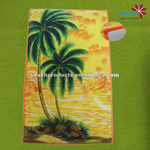 100% polyester fashion printed washable kitchen floor mats