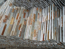 Excelllent interior decorative 20x60 Stacked culture natural wall stone slate