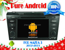 Android 4.4 car dvd player FOR MAZDA 3 (2007~2009) RDS,Telephone book,AUX IN,GPS,WIFI,3G,Built-in wifi dongle