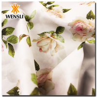Wholesale From China Digital Printed 100% Silk Fabric