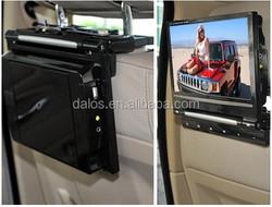 "Portable DVD Player 9"" Dual 2-Screens Car Headrest USB SD Card Reader Play Twin"