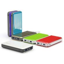 Luggage Case Shape Dual USB Port 10400mAh Power Banks