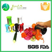 Slicers FDA Metal CIQ vegetable fruit spiral potato chip cutter