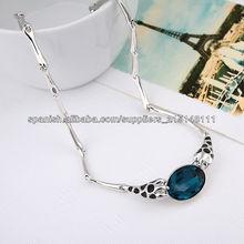 2013 collar de gargantilla de diamantes de imitación de la manera ZHXL-134