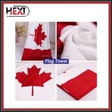 Canada Flag Printed Cotton Beach Towel