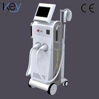 Multifunctional 2 handles elight beauty machine professional ipl facial beauty equipment e light(ipl & rf)