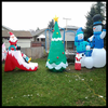 Giant Christmas inflatable decoration group for sale