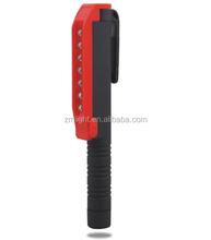 Wholesale led pen lights CE EMC GS CB PAHS ROHS TUV certificated flashlight led light 14cm plastic ball pen