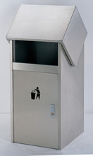 metal recycling outdoor dustbins